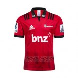 Crusaders Rugby Shirt 2018-19 Home Red