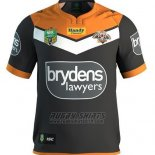 Wests Tigers Rugby Shirt 2017 Home