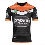 Wests Tigers Rugby Shirt 2018-19 Home