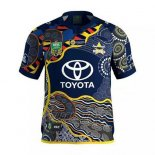 North Queensland Cowboys Rugby Shirt 2017 Indigenousus