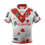 St George Illawarra Dragons Rugby Shirt 2018-19 Conmemorative