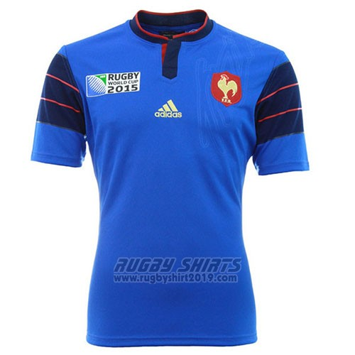 France Rugby Shirt 2015-16 Home