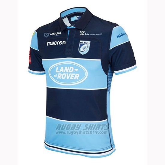 Jersey Cardiff Blues Rugby 2018-19 Home