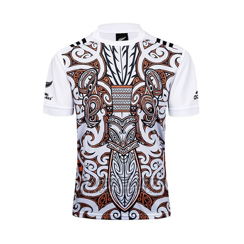 New Zealand All Blacks Rugby Shirt 2017 Training White