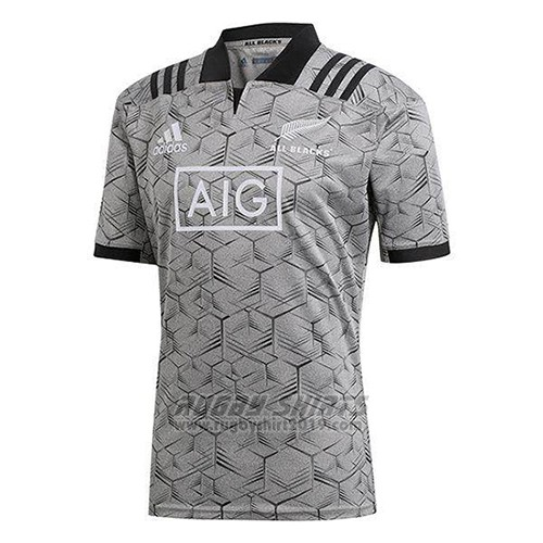 New Zealand Maori All Blacks Rugby Shirt 2018-19 Home