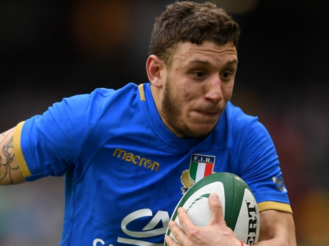 Italy Rugby Shirt 2018 2019