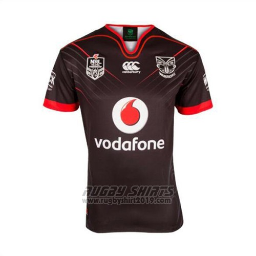 f9e5bc911 New Zealand Warriors Rugby Shirt 2017 Home. Loading zoom