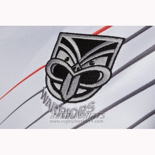 New Zealand Warriors Rugby Shirt 2018-19 Home