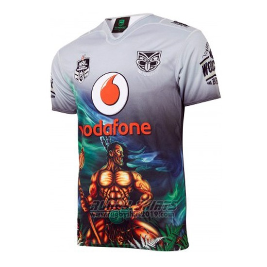 Jersey New Zealand Warriors Rugby 2018 Indigenous